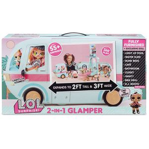 Оригинал Автобус с куклой Лол MGA Entertainment 559771 (LOL Surprise Glamper Fashion Camper)
