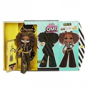 Оригинал Кукла ЛОЛ Королева Пчелка (LOL Surprise OMG Royal Bee Fashion Doll MGA Entertainment 560555)