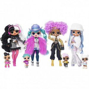 Оригинал Кукла ЛОЛ Зимнее Диско и ее сестричка (LOL OMG Winter Disco Cosmic Nova Fashion Doll And Her Sister MGA Entertainment 561804)