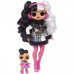 Оригинал Кукла ЛОЛ Зимнее Диско и ее сестричка (LOL OMG Winter Disco Dollie Fashion Doll And Her Sister MGA Entertainment 561798)