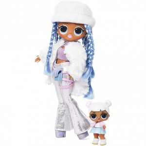 Оригинал Кукла ЛОЛ Зимнее Диско и ее сестричка (LOL OMG Winter Disco Snowlicious Fashion Doll And Her Sister MGA Entertainment 561828)