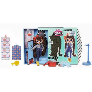 Оригинал Кукла ЛОЛ OMG Busy B.B. 2-я волна (LOL Surprise Fashion Doll MGA Entertainment 565116)