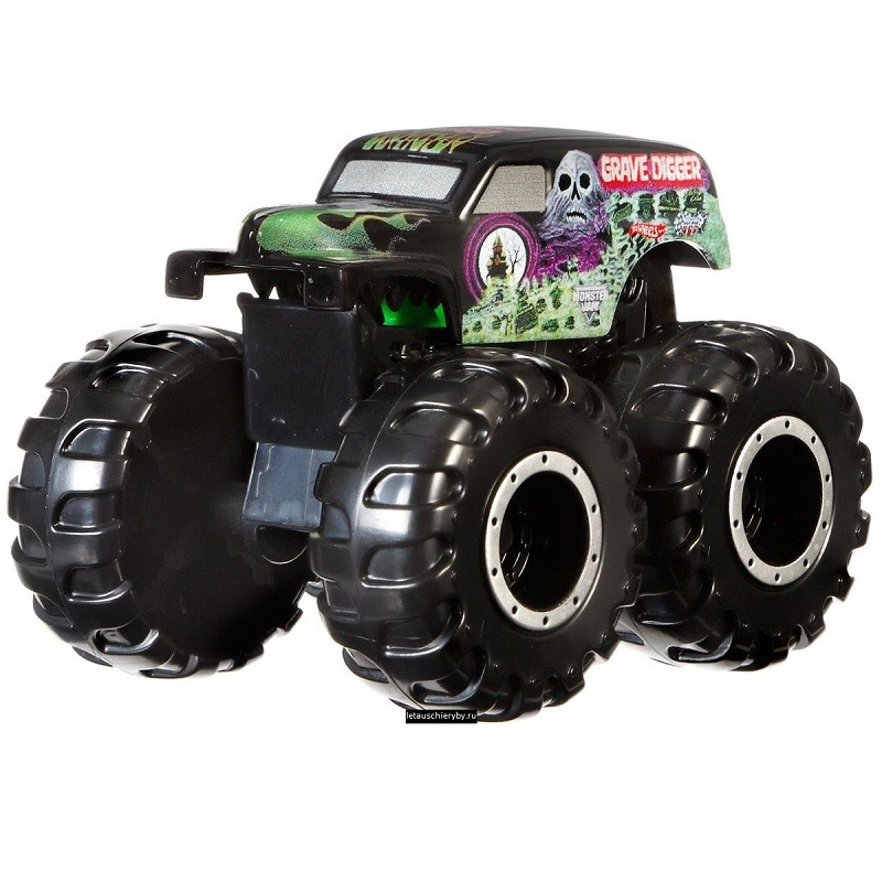 Машинка-мутант 1:64 Grave Digger Хот Вилс CFY42/CFY43 (Hot Wheels Monster Jam Mutants)