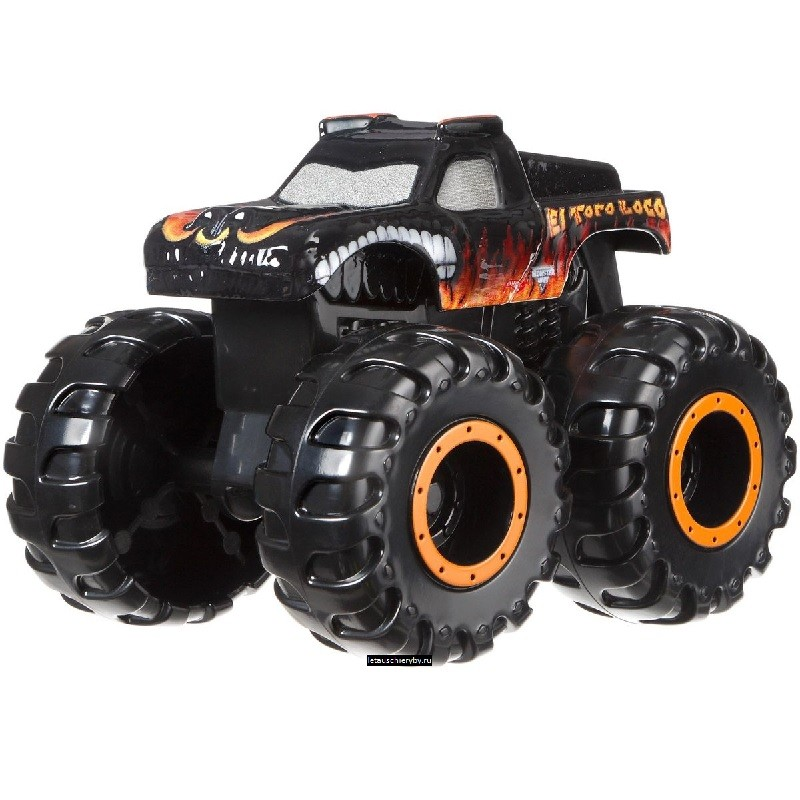 Машинка-мутант El Toro Loco (Hot Wheels Monster Jam Mutants)