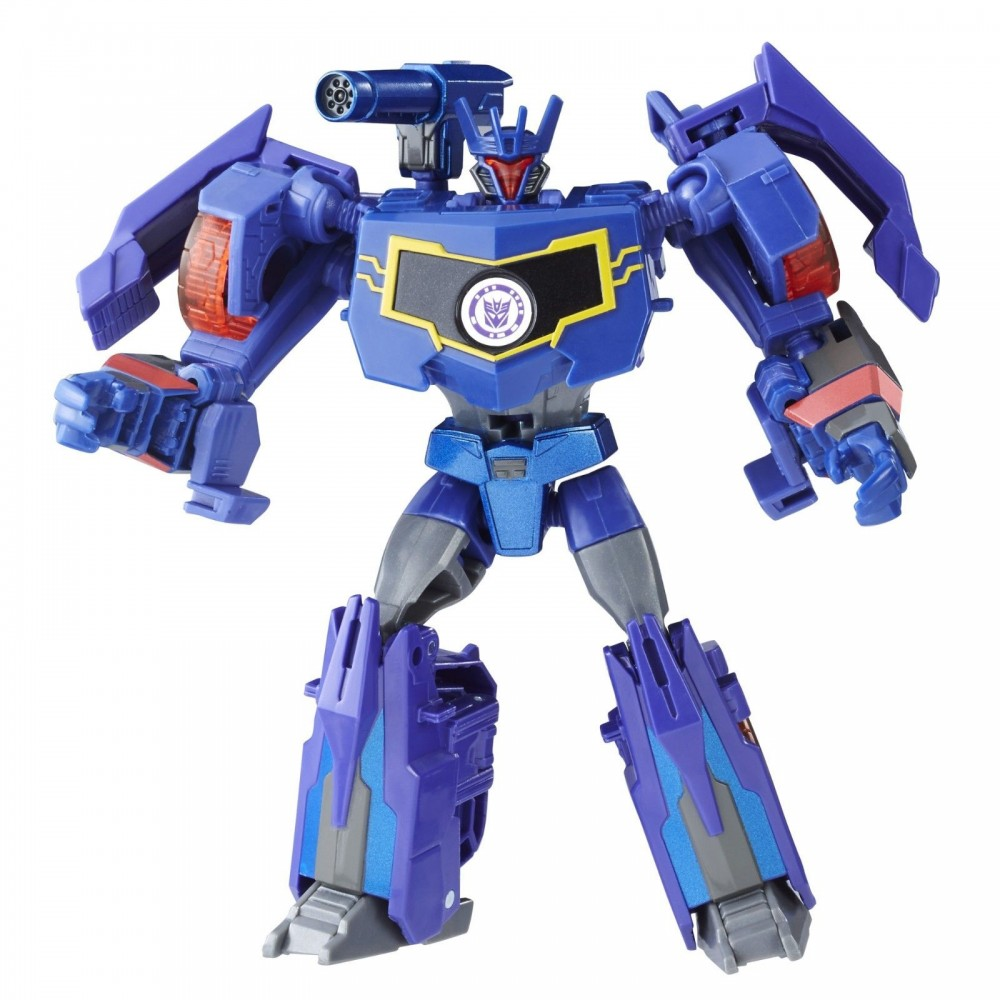Боевая фигурка Трансформера Саундвейв B0070/C1080 (Soundwave, Transformers Robots in Disguise)