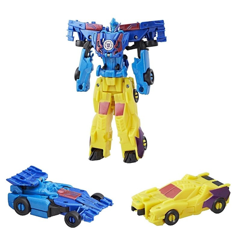 Боевой набор Трансформеры Драгстрип и Вайлдбрейк C0628/C2342 (Transformers Robots in Disguise)