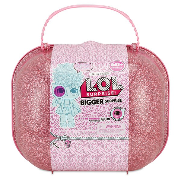 Оригинал Чемодан Декодер Лол MGA Entertainment 553007 (Bigger LOL Surprise)