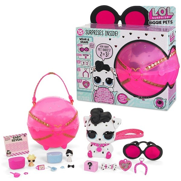 Оригинал Большой питомец Далматинец Лол MGA Entertainment 552239 (LOL Surprise Biggie Pets Decoder)