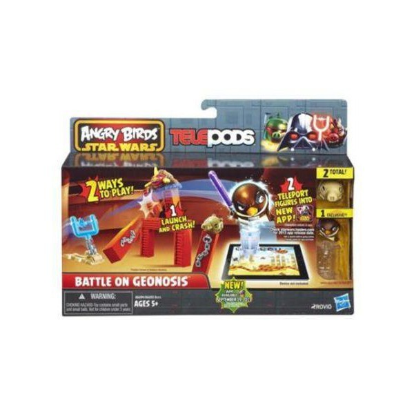 Angry Birds Star Wars Telepods Battle on Geonosis Set