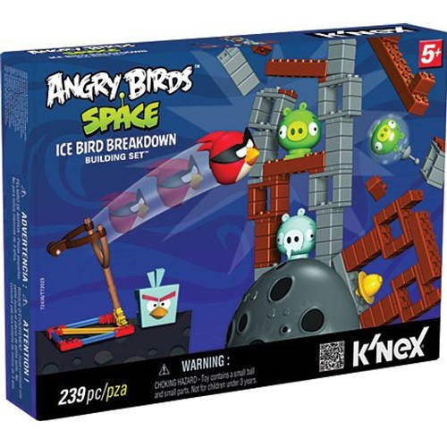 Angry Birds Space K'NEX: Ice Bird Breakdown
