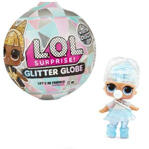 Оригинал Кукла-сюрприз ЛОЛ Зимнее диско (LOL Surprise Glitter Globe Winter Disco MGA Entertainment 561606)