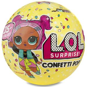 Оригинал Кукла-сюрприз Конфетти ЛОЛ в шарике MGA Entertainment 551515 (LOL Surprise Confetti Pop) 3-я серия