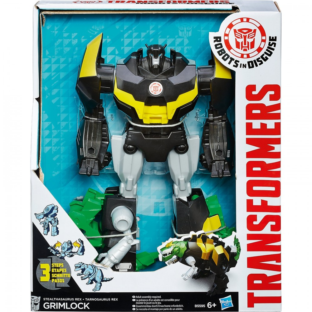 Большой трансформер 3-step Гримлок B0067/B5595 (Grimlock, Robots in Disguise)