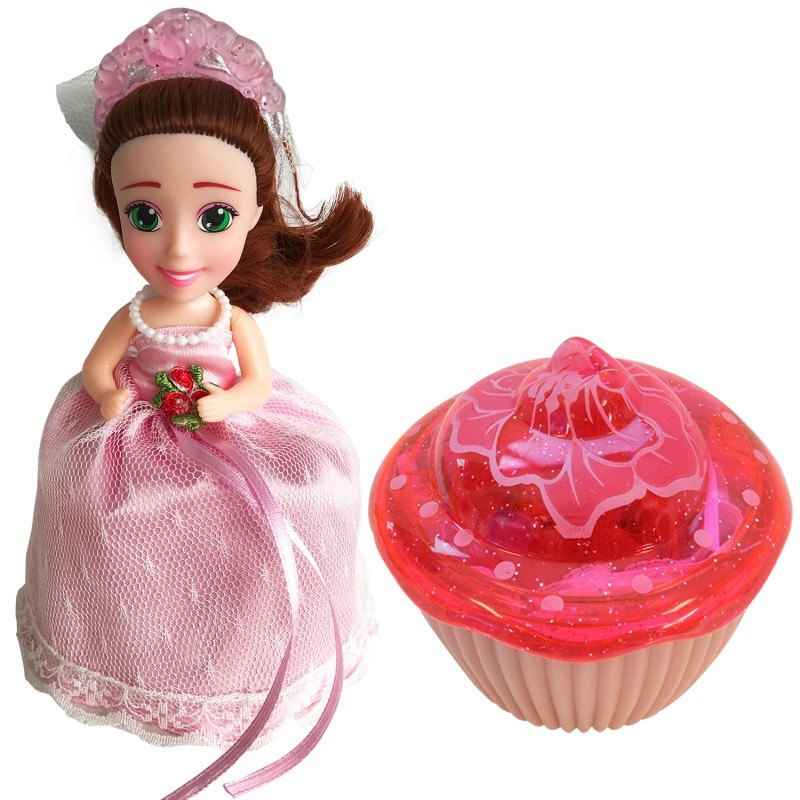 Кукла-кекс Невеста Elizabeth с расческой, 15 см 1105-1 (Cupcake Surprise Wedding)