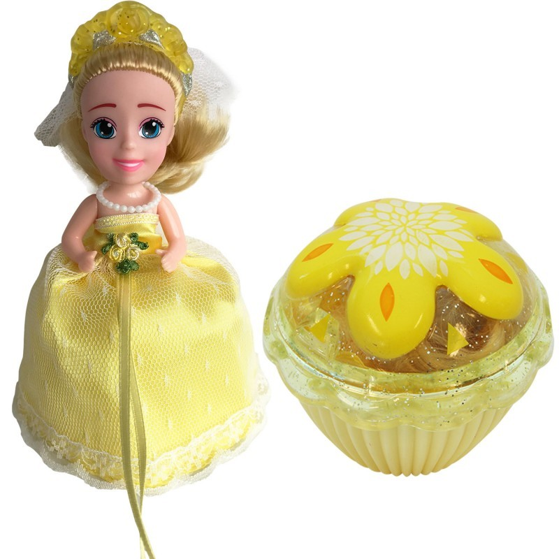 Кукла-кекс Невеста Martha с расческой, 15 см 1105-11 (Cupcake Surprise Wedding)