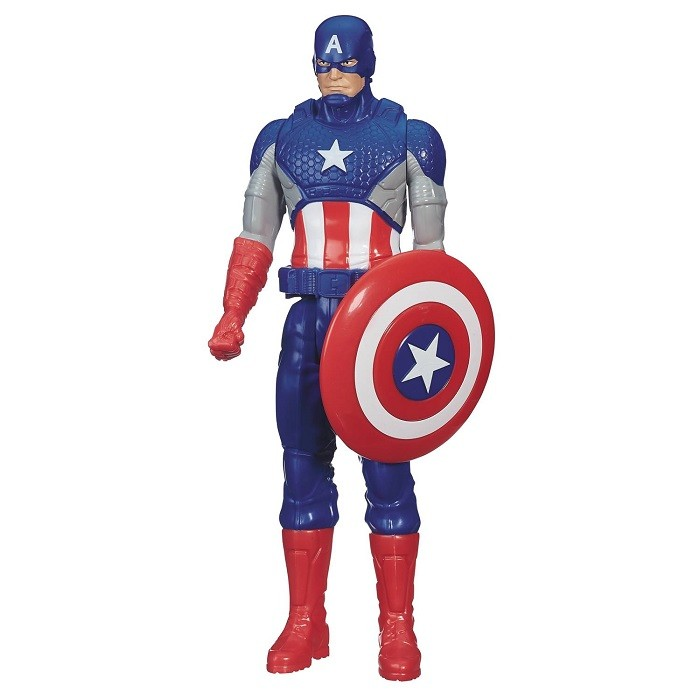 Титан Капитан Америка 30 см B6660/B6153 (Avengers Titan Hero Series Captain America)
