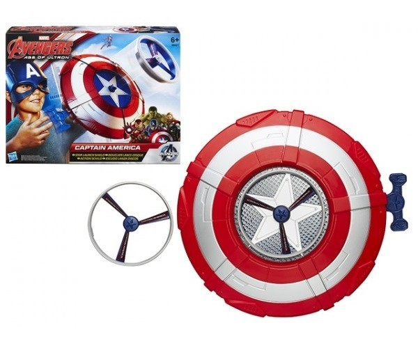 Летательный щит Капитана Америка B0427 (The Avengers Captain America Flying Shield)