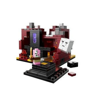 Конструктор Lego Micro World The Nether Minecraft, 469 деталей