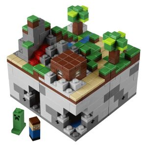 Конструктор Lego Micro World Minecraft, 480 деталей